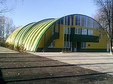 строительство спортивного комплекса - Боровая